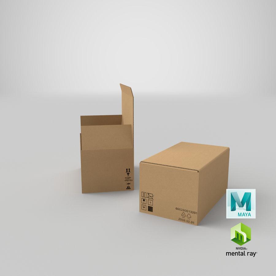Boîtes en carton 01 royalty-free 3d model - Preview no. 30