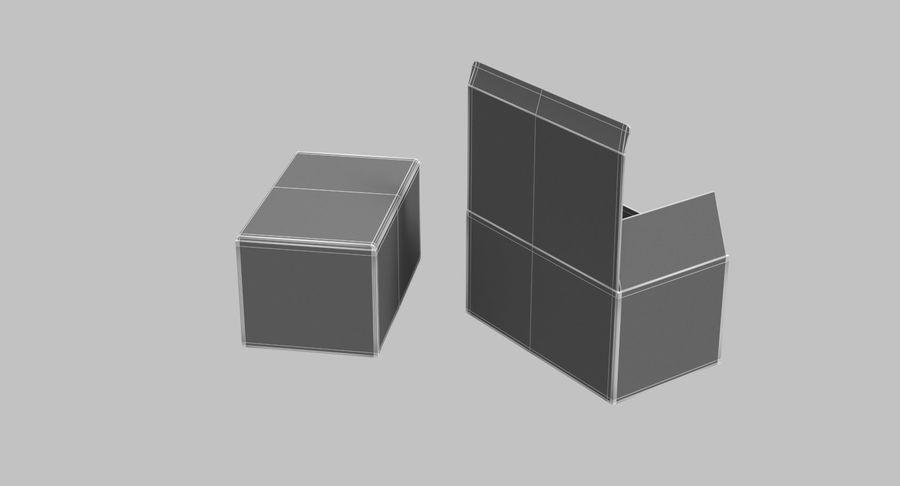 Boîtes en carton 01 royalty-free 3d model - Preview no. 16