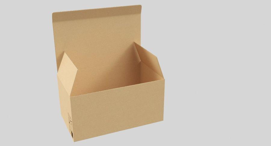 Boîtes en carton 01 royalty-free 3d model - Preview no. 4