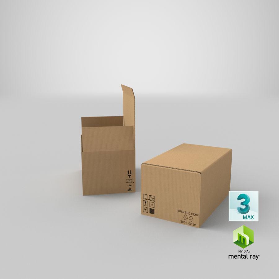 Boîtes en carton 01 royalty-free 3d model - Preview no. 27