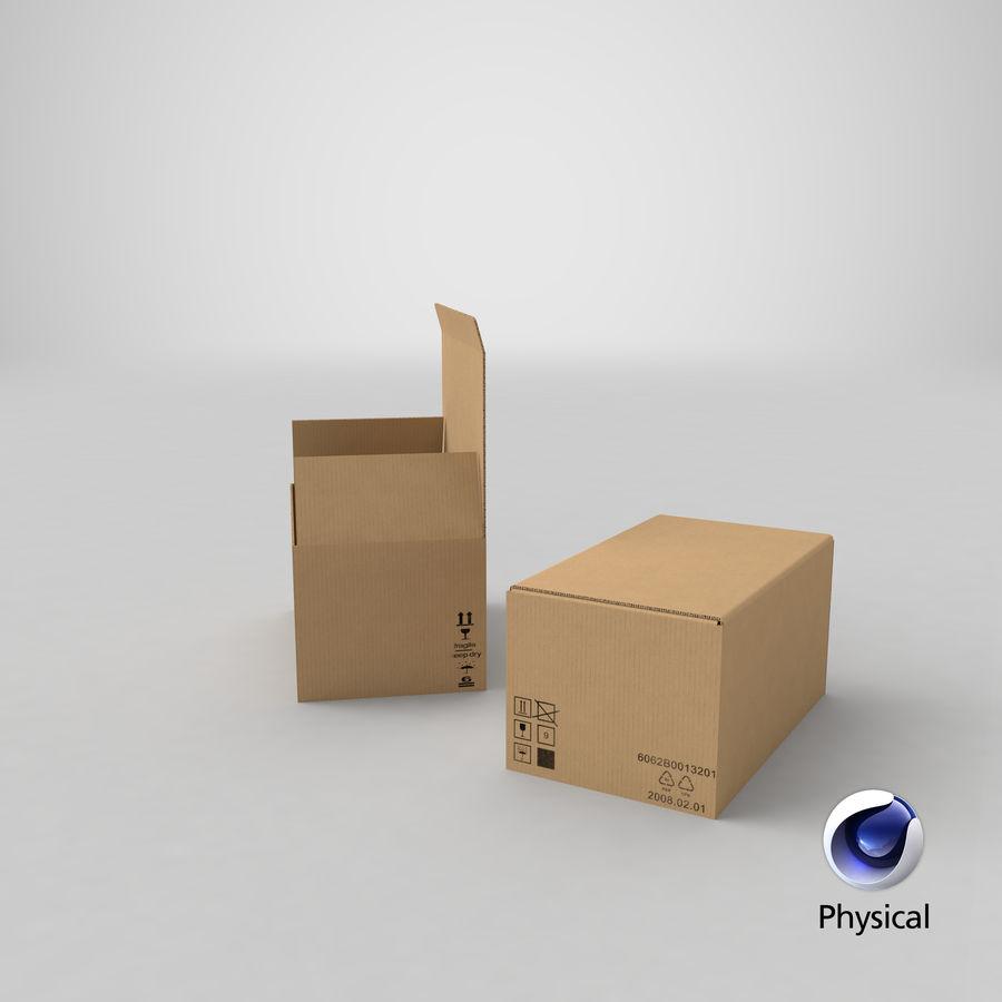 Boîtes en carton 01 royalty-free 3d model - Preview no. 22