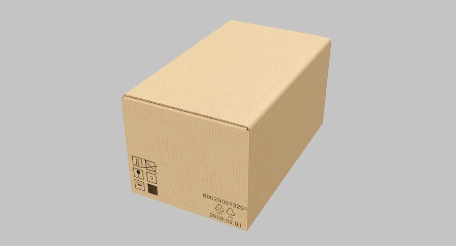 Boîtes en carton 01 royalty-free 3d model - Preview no. 8