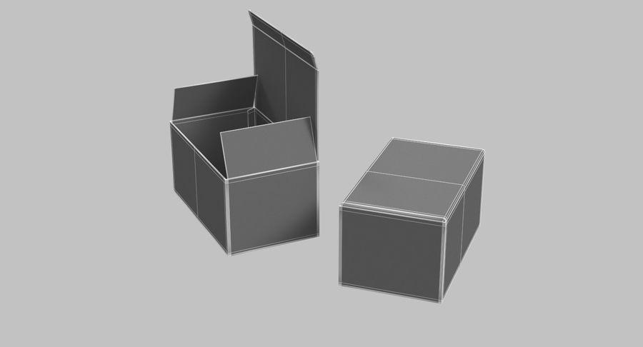 Boîtes en carton 01 royalty-free 3d model - Preview no. 18