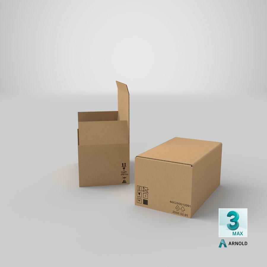 Boîtes en carton 01 royalty-free 3d model - Preview no. 26