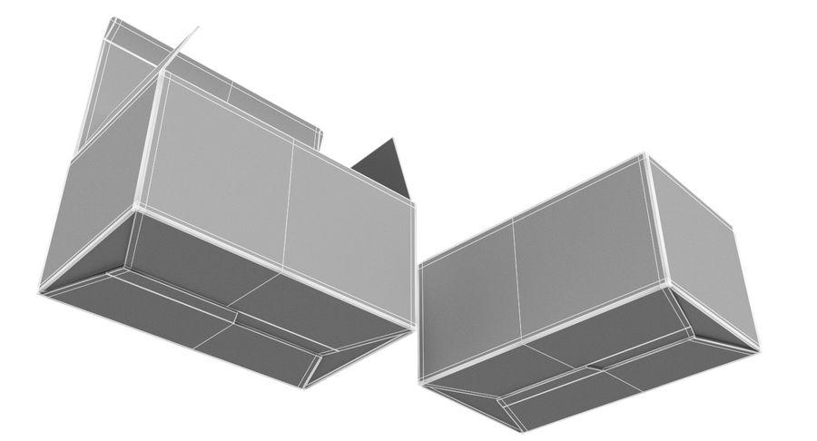 Boîtes en carton 01 royalty-free 3d model - Preview no. 12
