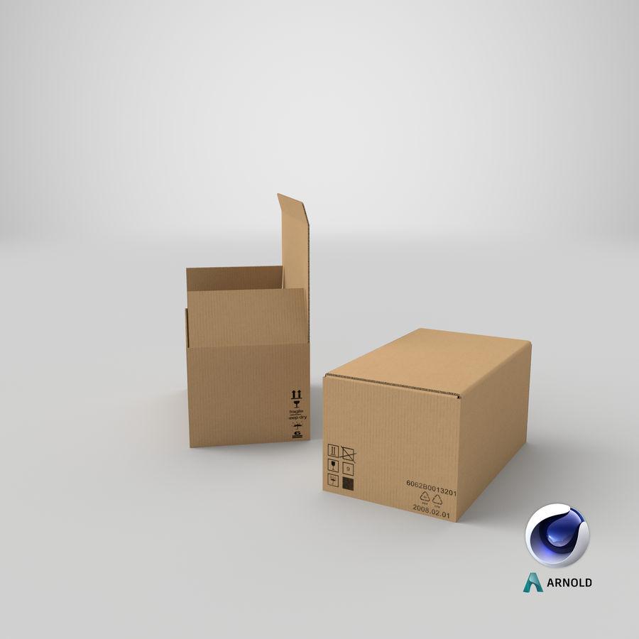 Boîtes en carton 01 royalty-free 3d model - Preview no. 23