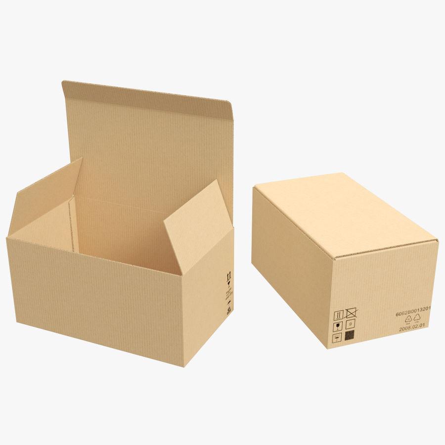 Boîtes en carton 01 royalty-free 3d model - Preview no. 1