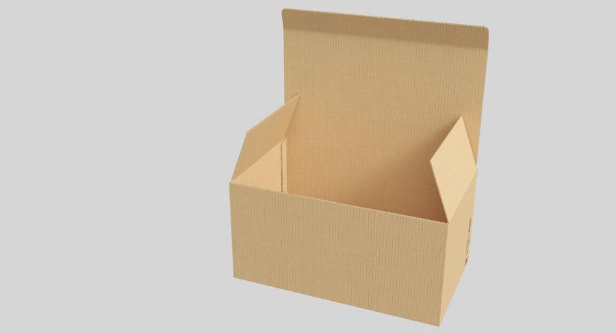 Boîtes en carton 01 royalty-free 3d model - Preview no. 5