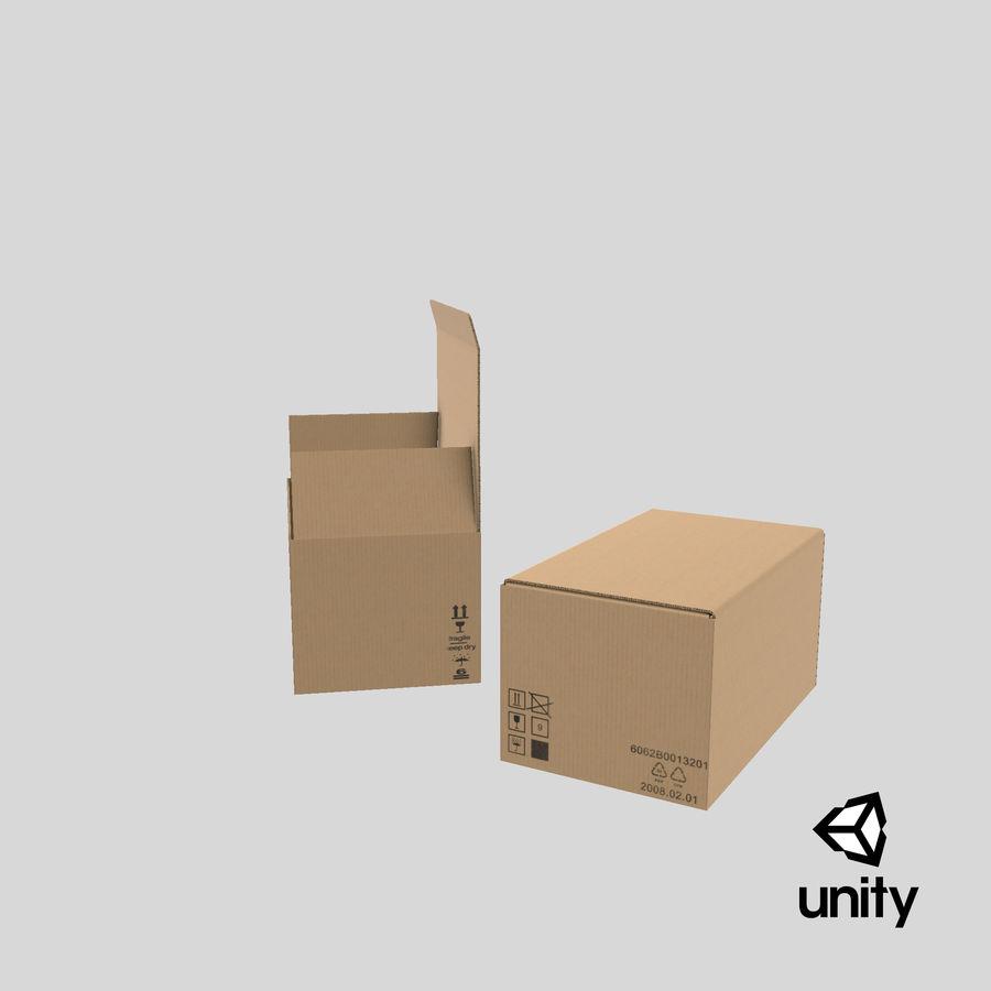 Boîtes en carton 01 royalty-free 3d model - Preview no. 24