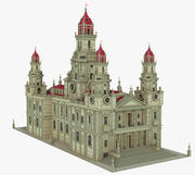 Medieval Fantasy Castle V2 3d model