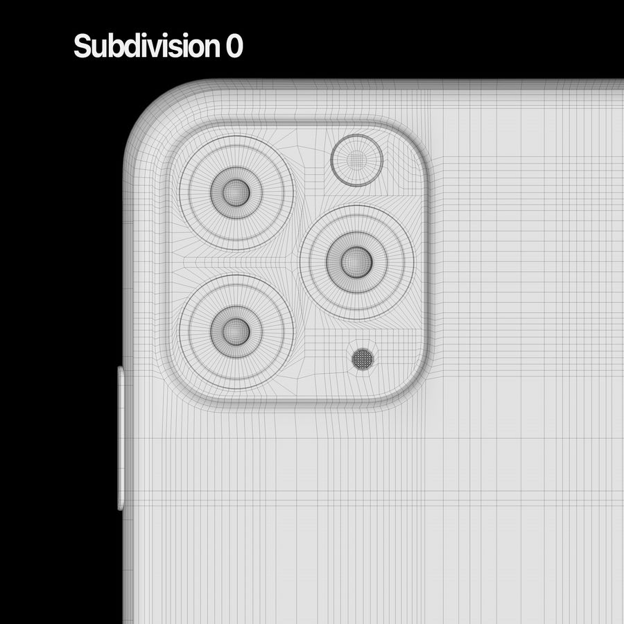Iphone 11 pro e Iphone 11 Pro Max royalty-free 3d model - Preview no. 13
