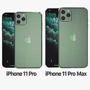 IPhone 11 Pro & iPhone 11 Pro max 3d model