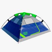 Tente de camp 4 personnes 3d model