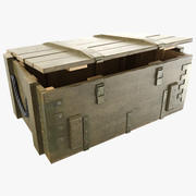 Military Box - PBR 3d model