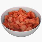 Watermelon Salad 3d model