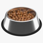 ドッグボウルのステンレス鋼の食糧容器 3d model