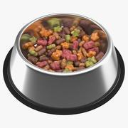 Сухая миска для корма для домашних животных 3d model