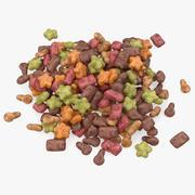 Alimentos para mascotas modelo 3d