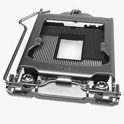 Processor Cover Plate 3d model