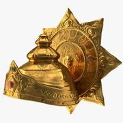 Krone des hinduistischen Gottes - alt 3d model