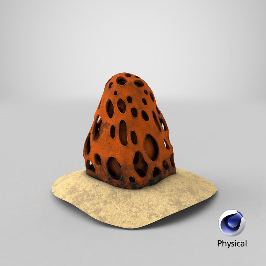 Coral V1 royalty-free 3d model - Preview no. 19