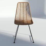 藤椅 3d model