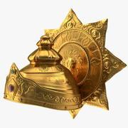 Corona de dios hindú modelo 3d