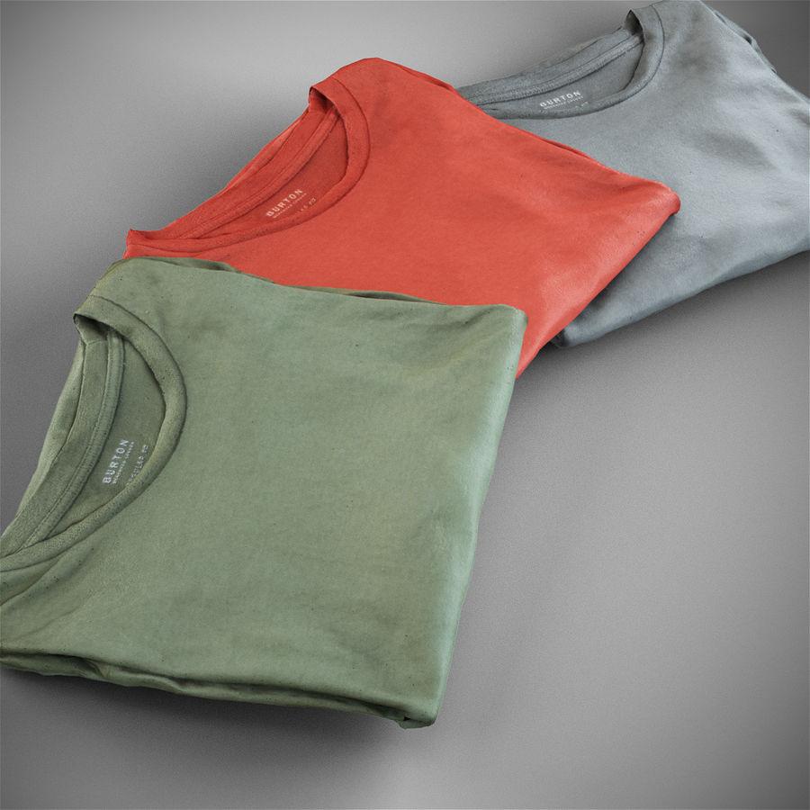 T-shirt złożony royalty-free 3d model - Preview no. 1
