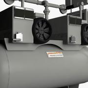 Вакуумный насос 3d model