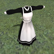 maid outfit 3d model