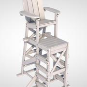救生椅 3d model