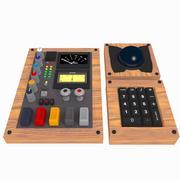 各种混合器旋钮和开关 3d model