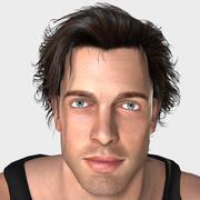 Conor Animated 3d model