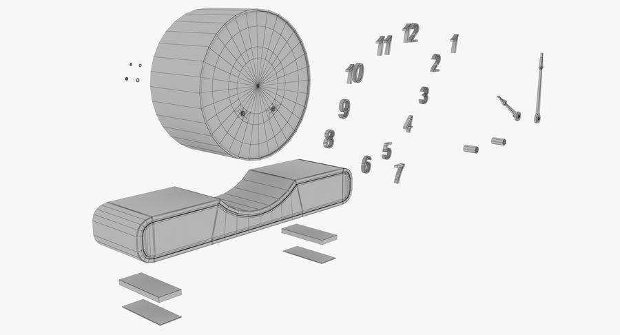 Mantel Clock royalty-free 3d model - Preview no. 29