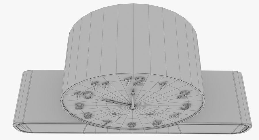 Mantel Clock royalty-free 3d model - Preview no. 25