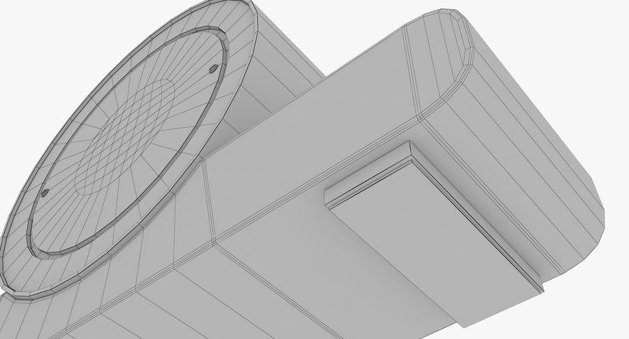 Mantel Clock royalty-free 3d model - Preview no. 24