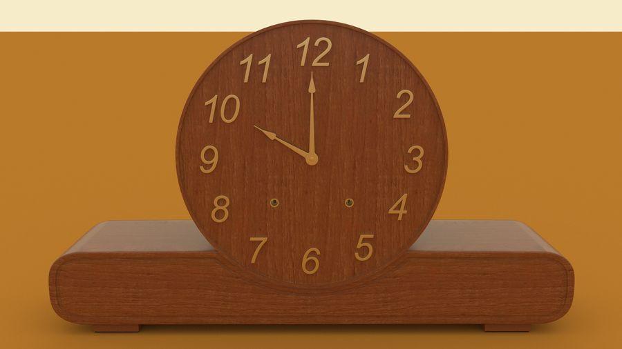 Mantel Clock royalty-free 3d model - Preview no. 4