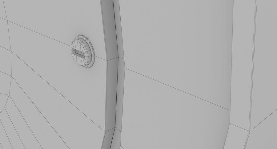 Mantel Clock royalty-free 3d model - Preview no. 22
