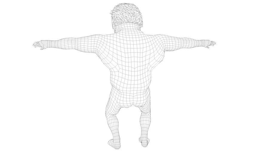 트럼프 조작 된 캐릭터 만화 양식 풍자 만화 royalty-free 3d model - Preview no. 6