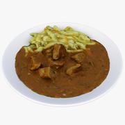 Lunch 14 3d model
