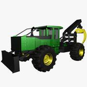 Bosbouw Skidder 3d model