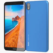 Xiaomi Redmi 7A Matte Blue 3d model