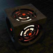 Cubo di fantasia 3d model