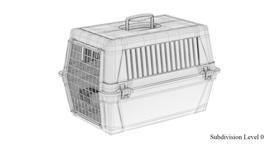 Trasportino per animali domestici royalty-free 3d model - Preview no. 12