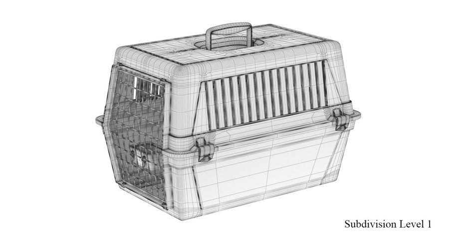 Trasportino per animali domestici royalty-free 3d model - Preview no. 13