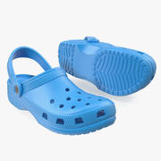 Causal Summer Foam Sandals 3d model