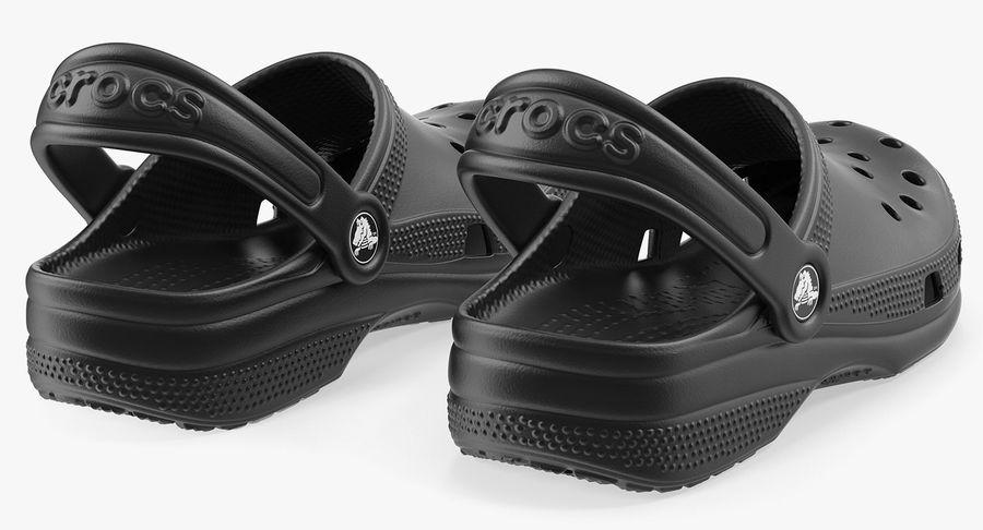 Crocs Coast Clog Black royalty-free 3d model - Preview no. 9