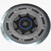 High Frequency Disk 3d model