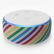 Amazon Echo Dot 3-е издание для детей (Радуга) 3d model