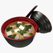 Zupa miso 3d model